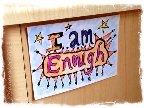 I am enough affirmation
