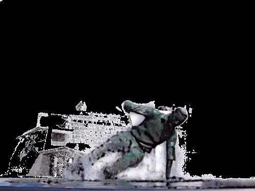 No background splash