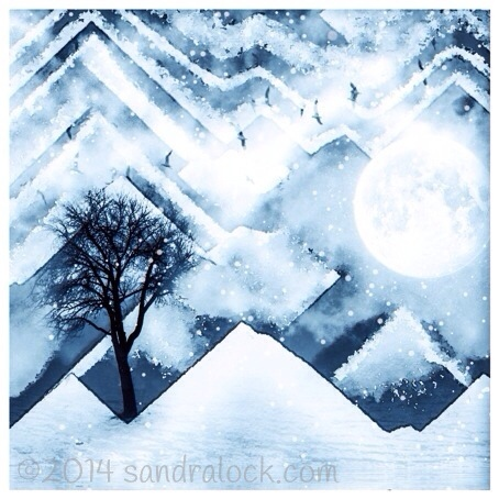 Winter dreams iphone art
