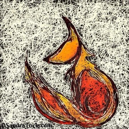 Glazed fox
