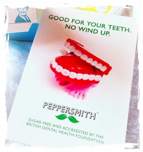 peppersmith toy teeth card