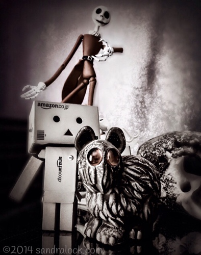 Danbo bartleby and skellington