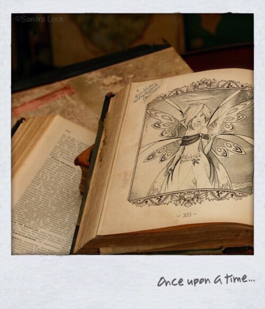 Once upon a time fairy tales book