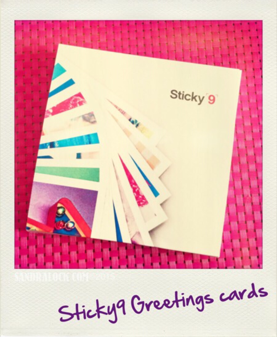 Packaging cards from sticky 9